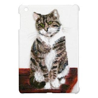 Cute Tabby Cat Art iPad Mini Cases