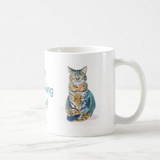 Cute Tabby Cat Coffee Mug