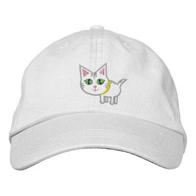 cat in hat hat. Cute Tabby Kitty Cat Hat / Cap