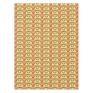 Cute Taco Character Tablecloth