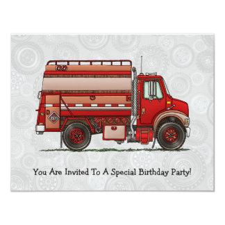 Cute Tank Truck Card