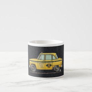 Cute Taxi Cab Espresso Cup
