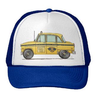 Cute Taxi Cab Trucker Hats