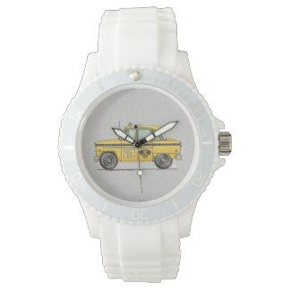 Cute Taxi Cab Wrist Watch
