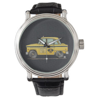 Cute Taxi Cab Wrist Watches