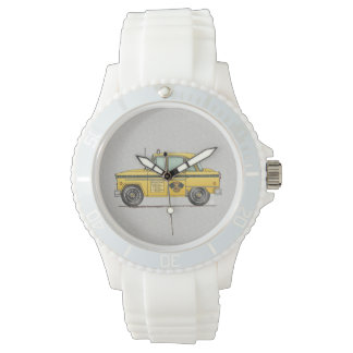 Cute Taxi Cab Wristwatch