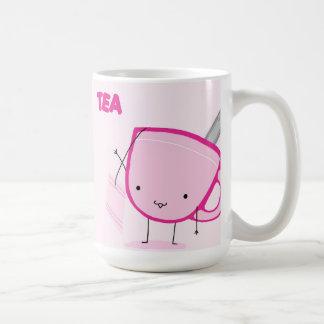 Cute-Tea Classic White Coffee Mug