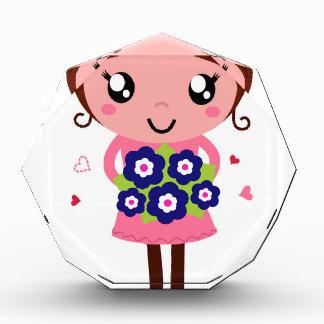 Cute teacher girl art Illustration Award