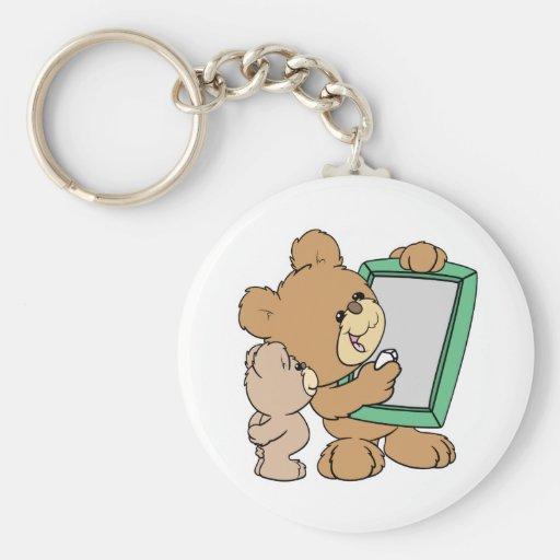 cute teacher teddy bear with chalkboard key chain