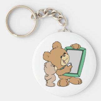 cute teacher teddy bear with chalkboard keychain