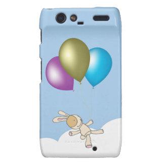 Cute Teddy and Balloons Art Motorola Droid RAZR Cover
