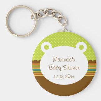 Cute Teddy Bear Baby Shower Keychain