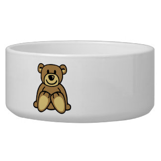 Cute teddy bear bowl
