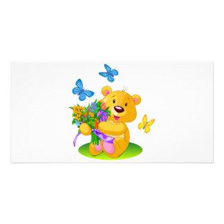 Cute teddy bear card