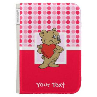 Cute Teddy Bear Kindle Covers