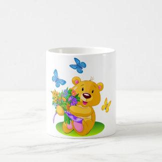 Cute teddy bear coffee mug