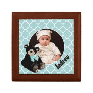 Cute Teddy Bear Custom Wood Box