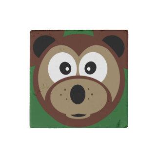 Cute Teddy Bear Face  Kids  Magnet