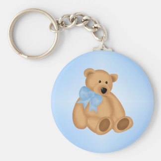 Cute Teddy Bear, For Baby Boy Keychain