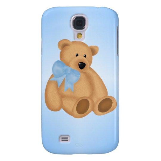Cute Teddy Bear, For Baby Boy Samsung Galaxy S4 Cover