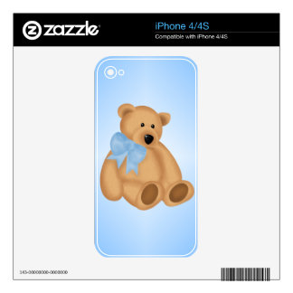 Cute Teddy Bear, For Baby Boy Skin For The iPhone 4
