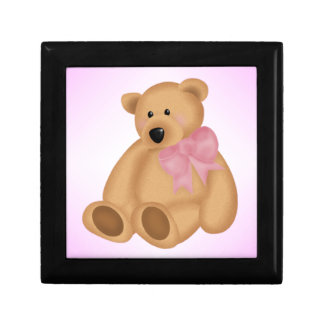 Cute Teddy Bear, For Baby Girl Jewelry Box