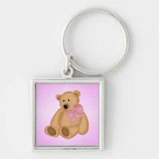 Cute Teddy Bear, For Baby Girl Keychain