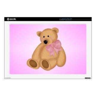 Cute Teddy Bear, For Baby Girl Laptop Skin