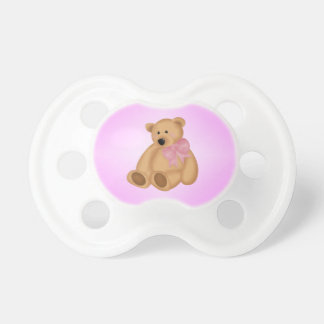 Cute Teddy Bear, For Baby Girl Pacifiers