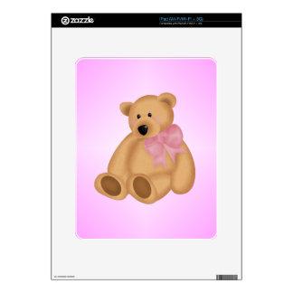 Cute Teddy Bear, For Baby Girl Skin For The iPad