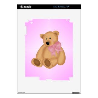 Cute Teddy Bear, For Baby Girl Skins For iPad 2