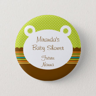 Cute Teddy Bear Future Nanna Button