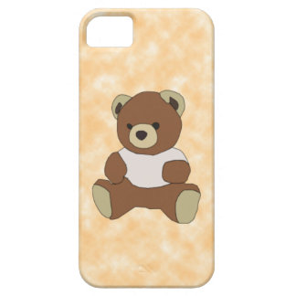 Cute Teddy Bear in Pink T-Shirt iPhone 5 Covers