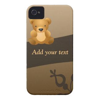 cute teddy Bear iPhone 4 Cases