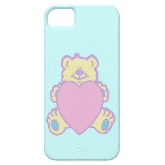 Cute Teddy Bear Love Heart iPhone SE/5/5s Case
