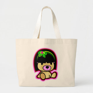 Cute Teddy Bear Oriental Kawaii style bag