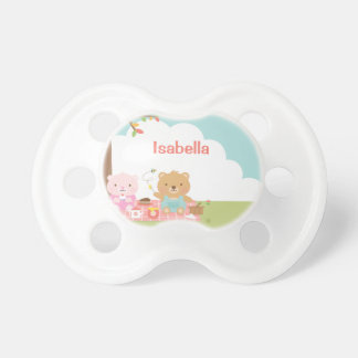 Cute Teddy Bear Picnic Party Outdoor For Babies Pacifier