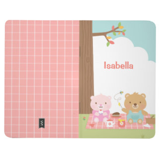 Cute Teddy Bear Picnic Party Outdoor For Kids Journal