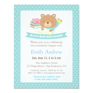 Teddy Bear Baby Shower Invitations Cute Baby Shower Invitations