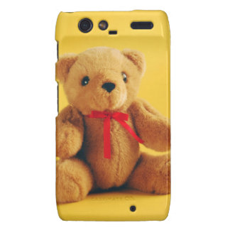 Cute teddy bear print phone case motorola droid RAZR cover