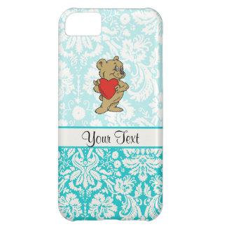 Cute Teddy Bear; Teal iPhone 5C Cover