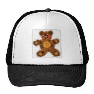 Cute Teddy Bear Toy Children Baby Shower Trucker Hat