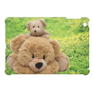 Cute Teddy Bears In A Meadow Case For The iPad Mini