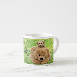 Cute Teddy Bears In A Meadow Espresso Cup