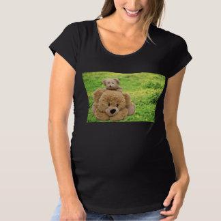 Cute Teddy Bears in a Meadow Maternity T-Shirt