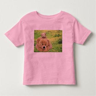 Cute Teddy Bears In A Meadow Toddler T-shirt