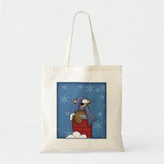 Cute Teddy - Christmas Design Tote Bag