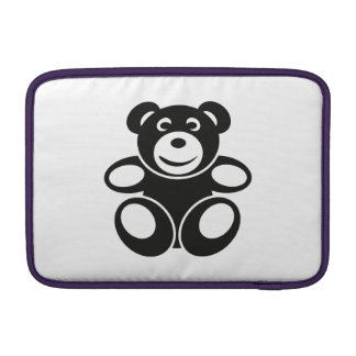 Cute Teddy with a Smile MacBook Air Sleeve