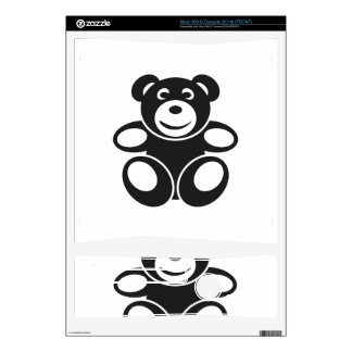Cute Teddy with a Smile Skins For The Xbox 360 S