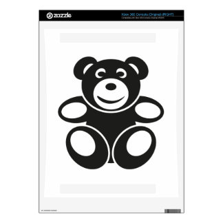 Cute Teddy with a Smile Xbox 360 Console Skin